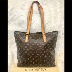 Authentic Louis Vuitton Cabas Mezzo #2.9P